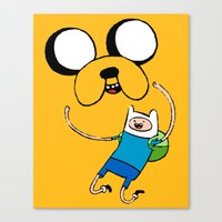 Adventure Time - FAN ART Canvas Print