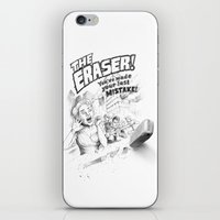 The Eraser iPhone & iPod Skin