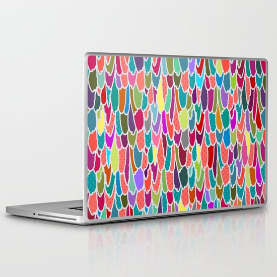 feather grid Laptop & iPad Skin