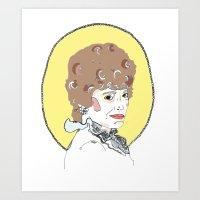 Blanche Art Print