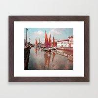 Cesenatico Framed Art Print