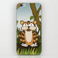 Erin's Jungle Tiger iPhone & iPod Skin