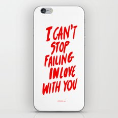 Failing iPhone & iPod Skin