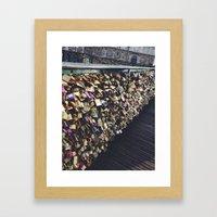 Locks Framed Art Print