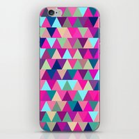 Triangle Mix #1 iPhone & iPod Skin