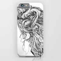 iPhone & iPod Case featuring Portrait of a Forgotten Girl. by Manolibera