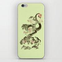 Shen-Lung iPhone & iPod Skin