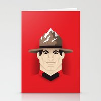 Mountie Stationery Cards