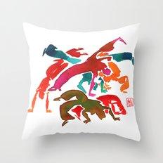 Capoeira 243 Throw Pillow