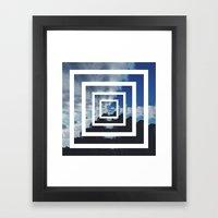 SKY ILLUSION Framed Art Print
