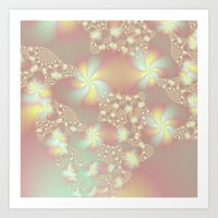 Fairy Lights Art Print
