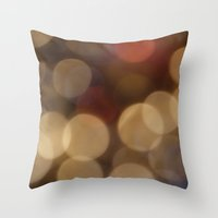 OO ~ Abstract Throw Pillow