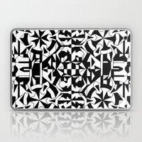 Black And White Square 1 Laptop & iPad Skin