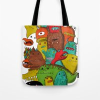 Mile-End Monsters Tote Bag