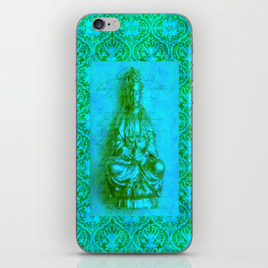 Jade Kwan Yin iPhone & iPod Skin