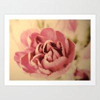 Vintage Pink Art Print