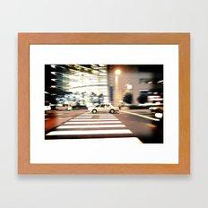 In The Fast Lane Framed Art Print