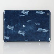 Patched Jeans  iPad Case