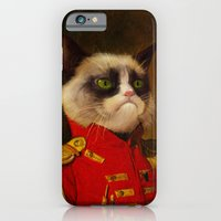 iPhone & iPod Case featuring The cat is Grumpy by Catalin Anastase