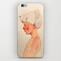 Little dreamer iPhone & iPod Skin