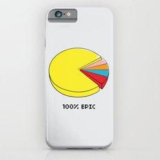 Epic Pie Chart iPhone 6 Slim Case