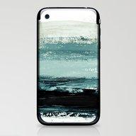 Abstract Minimalist Land… iPhone & iPod Skin