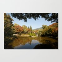Almost Autumn Canvas Print