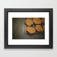 Chocolate Chip Cookies  Framed Art Print