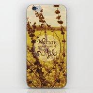 Mustard Plant iPhone & iPod Skin