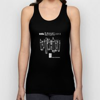 Urban Sketchers USk BCN 2013 Unisex Tank Top