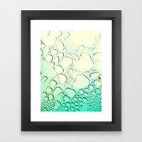 Raindrops? More Like Rai… Framed Art Print