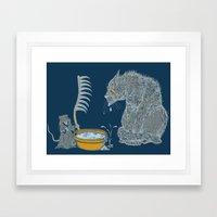 The Rat Reaper Framed Art Print