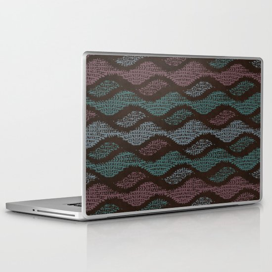 WOOL WAVES Laptop & iPad Skin