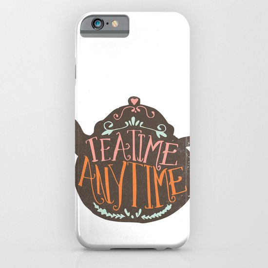 TEA TIME. ANY TIME. - color iPhone & iPod Case