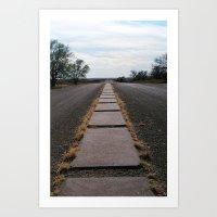 Glenrio, NM/TX, Route 66 IV Art Print