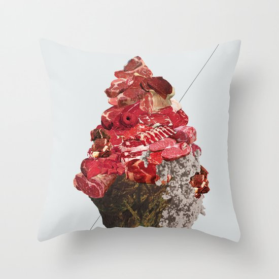 Solid things 6 Throw Pillow