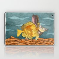 Foxface rabbit fish Laptop & iPad Skin