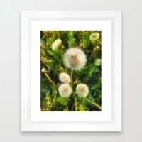 just a happy day  Framed Art Print