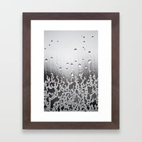32 Degrees. Framed Art Print