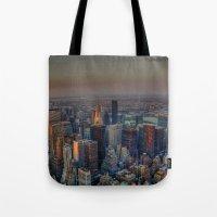 NEW YORK SUNSET Tote Bag