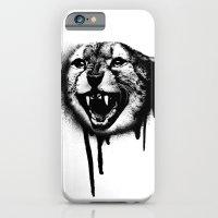 iPhone & iPod Case featuring Cheetah Spray Paint by Soren Barton