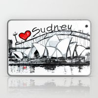 I love Sydney  Laptop & iPad Skin