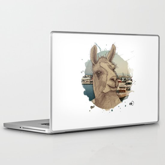 adventurous spirit Laptop & iPad Skin