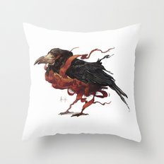 Tapestry Rook Throw Pillow