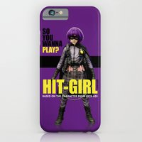 iPhone & iPod Case featuring Hit-Girl by SRB Productions