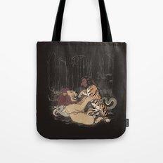 The Chimera Fight Tote Bag