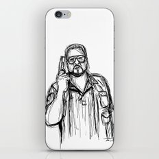 Walter Sobchak iPhone & iPod Skin