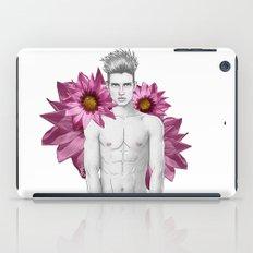 Boy & Flowers iPad Case
