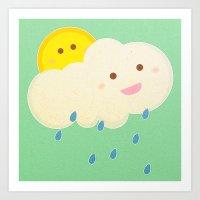 Raining Day Art Print