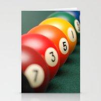 Billiard Gradient Stationery Cards
